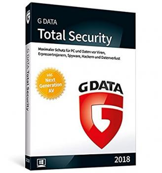G Data Total Security 2018, 1 Gerät